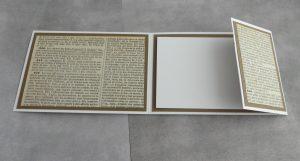 Karte Buchseite