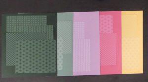 Incolor Farben mit Designerpapier